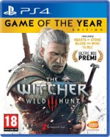 the witcher III game of the year ps4